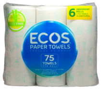 Image - ECOS™ Treeless Paper Towels 115 2-Ply /Roll