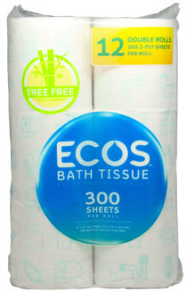 Image - ECOS™ Treeless Bathroom Tissue 300 2-Ply /Roll