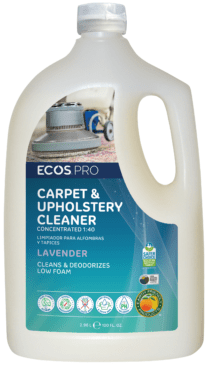 Image - ECOS™ Pro Carpet & Upholstery Cleaner Lavender 1:40 Concentrate